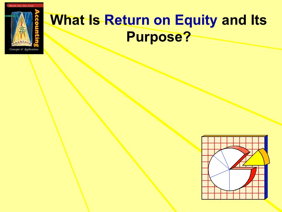 What Is Return on Equity and Its Purpose