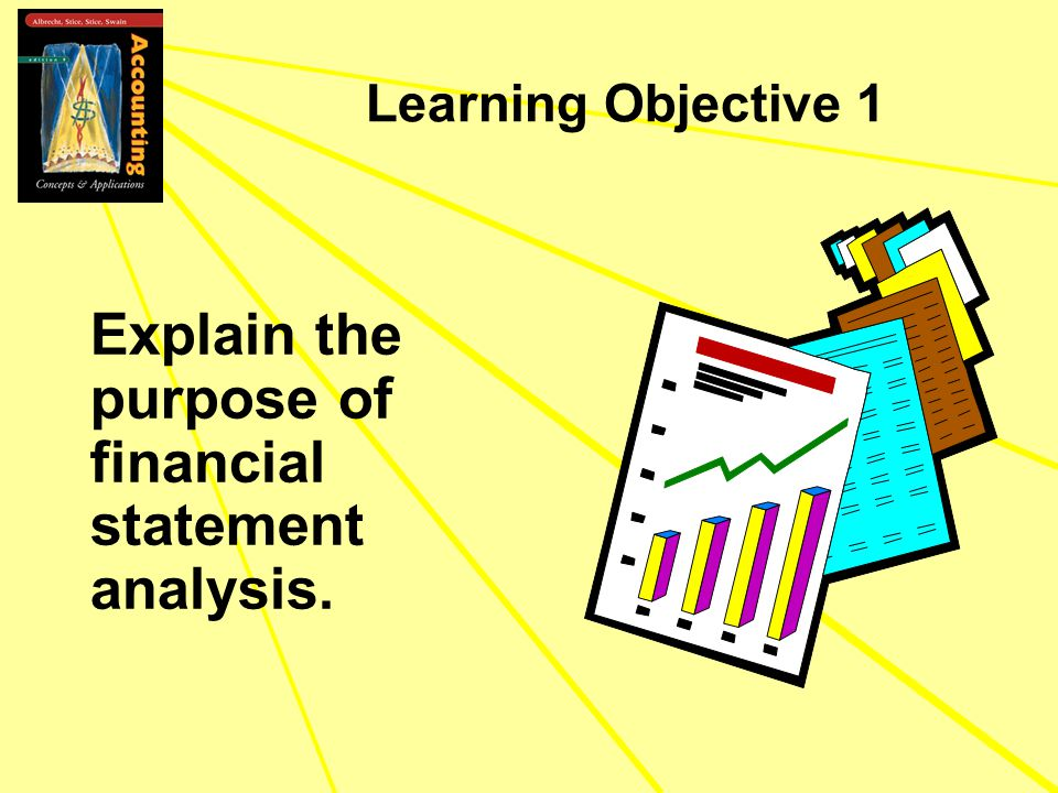 Learning Objective 1 Explain the purpose of financial statement analysis.