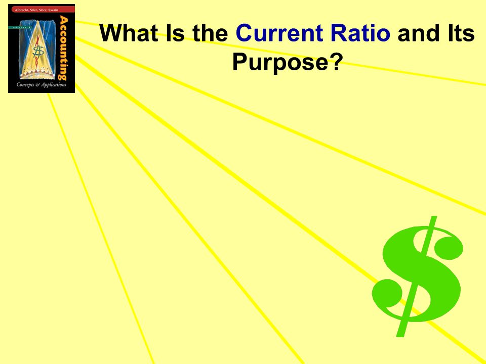 What Is the Current Ratio and Its Purpose