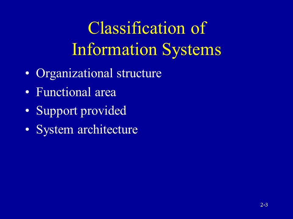 2-2 Information Systems: Concepts and Definitions Data Information Knowledge