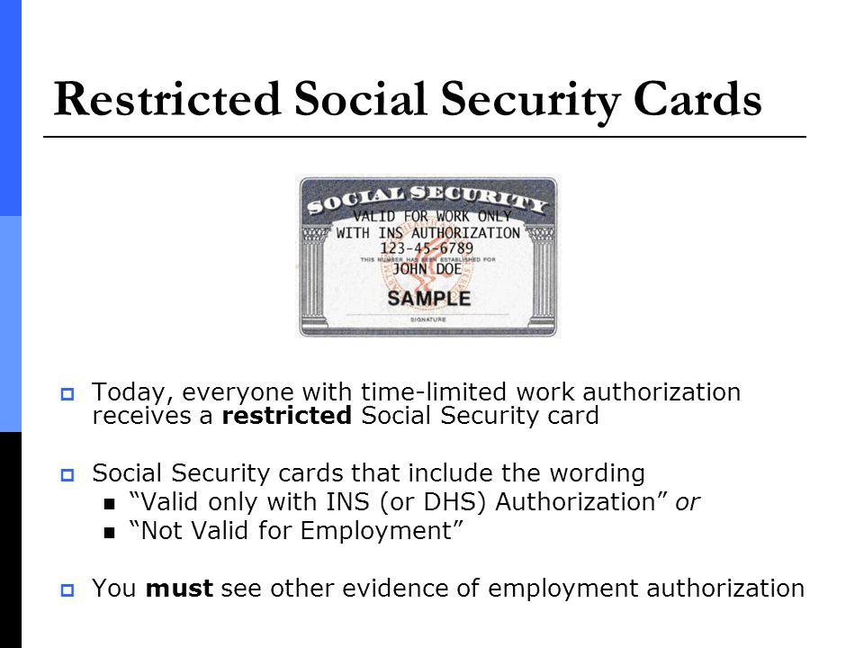 New Form I-9 Regulations Effective April 3, ppt download