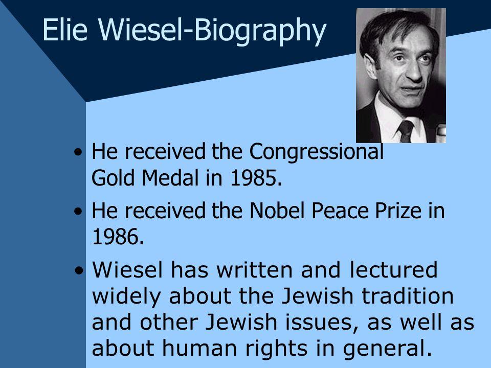 Nobel Peace Prize Medal 1986 Nobel Peace Prize in 1986