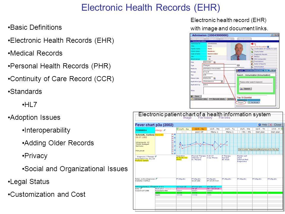 ¿Cuál es la diferencia entre un Registro Personal de Salud, una Historia Clínica Electrónica, y un