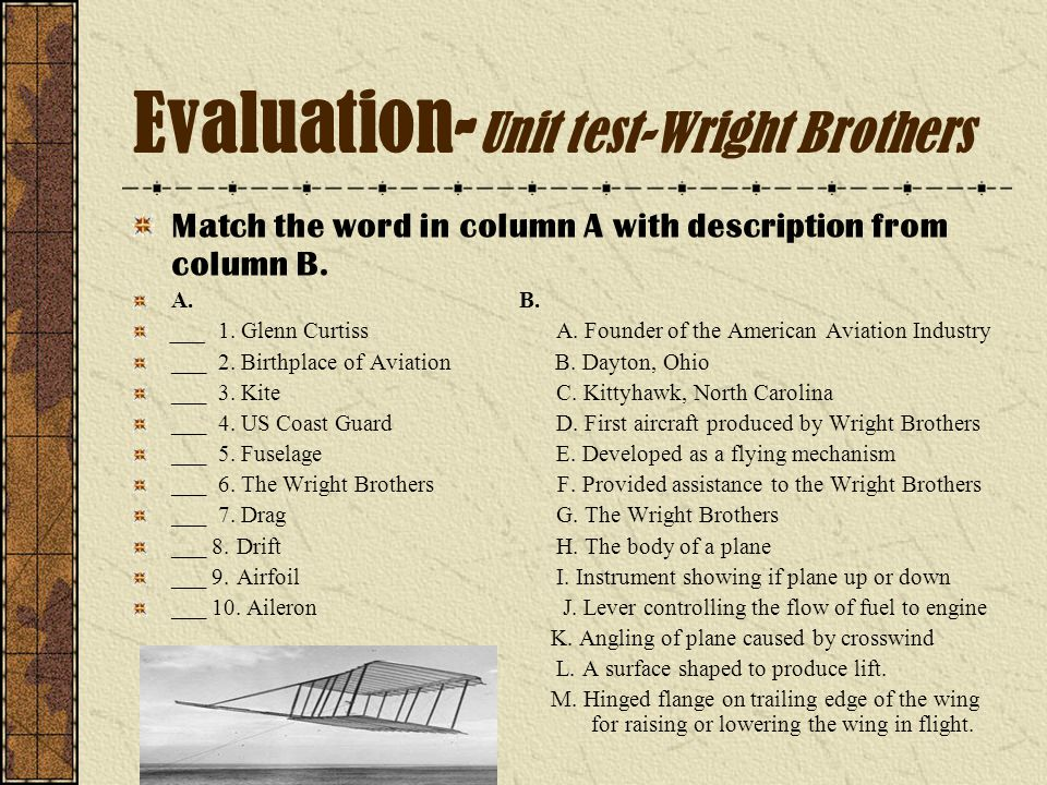 wright brothers sat essay