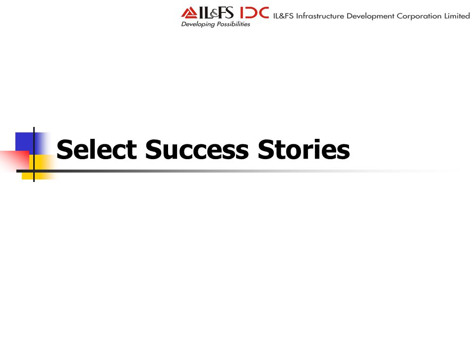 Select Success Stories