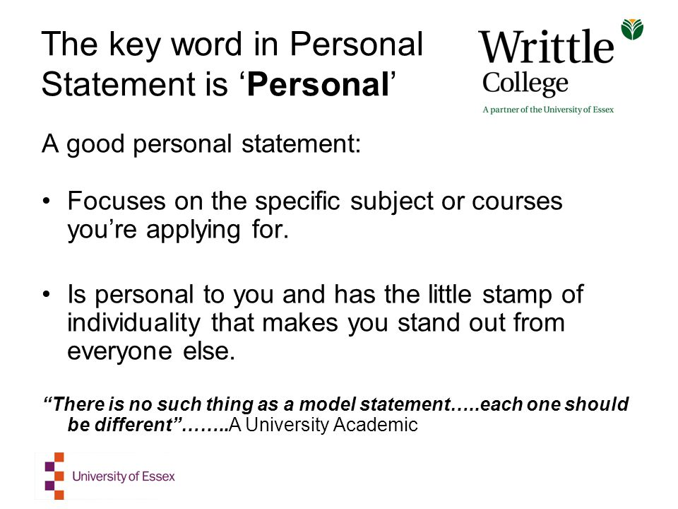 Cheap College Personal Statement Sample