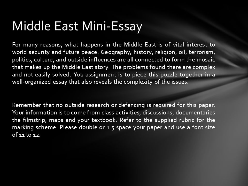 agenda for the day map of the middle east middle east mini  for many reasons what happens in the middle east is of vital interest to world