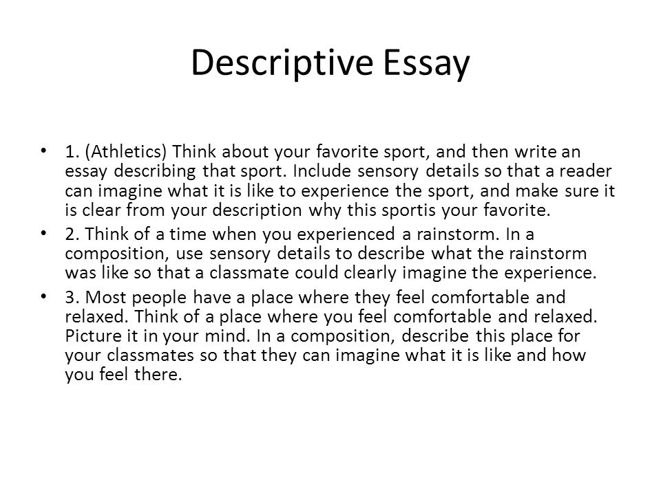 Essay on your favourite sport