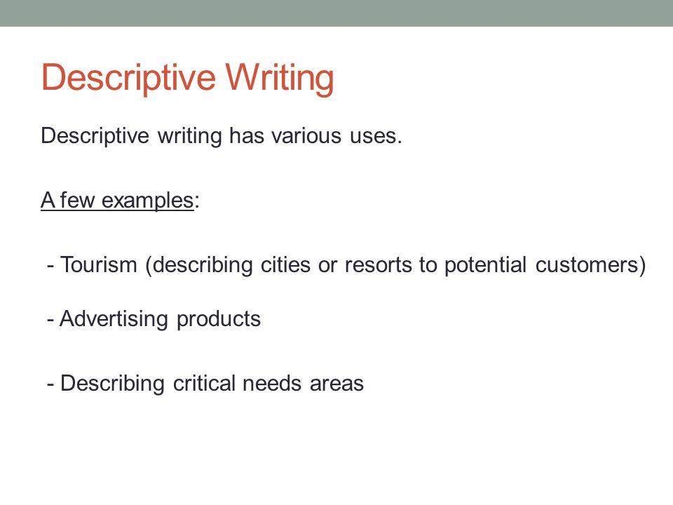 how to start a descriptive essay