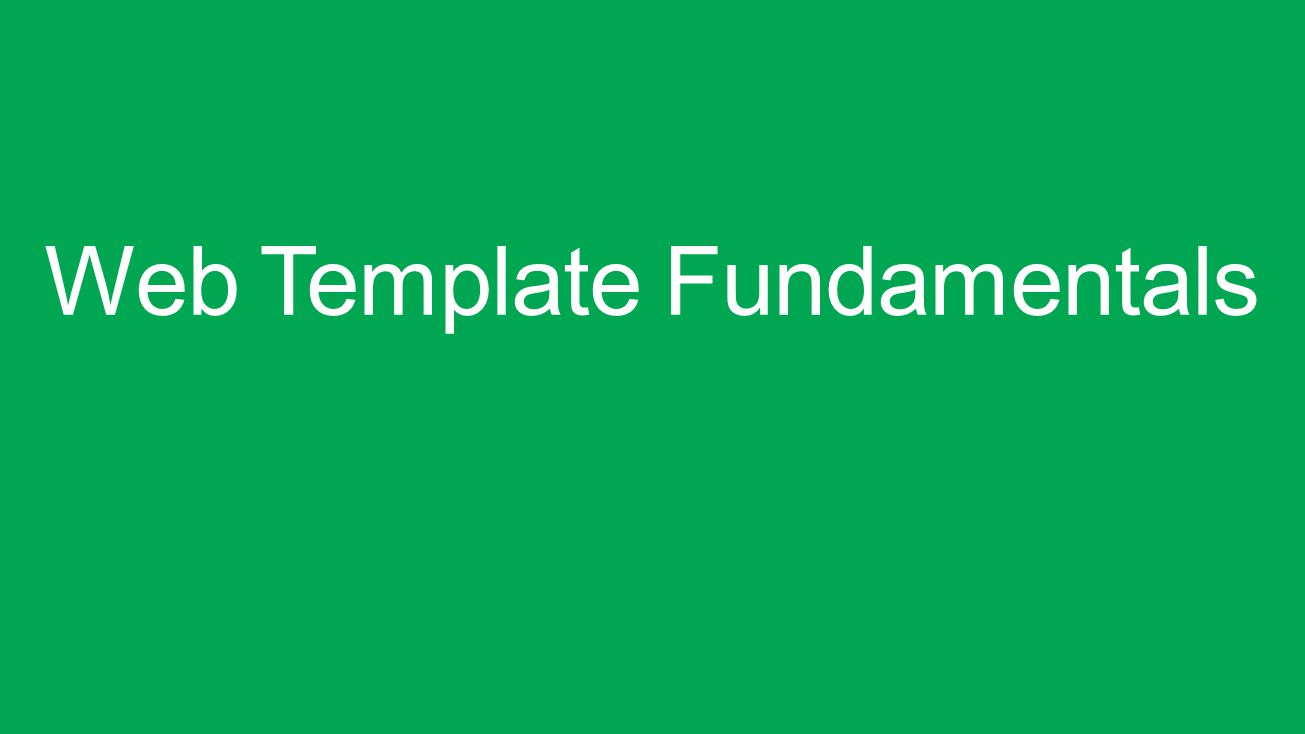 SPC220 Web Template FundamentalsCreating Web Templates Using Web ...