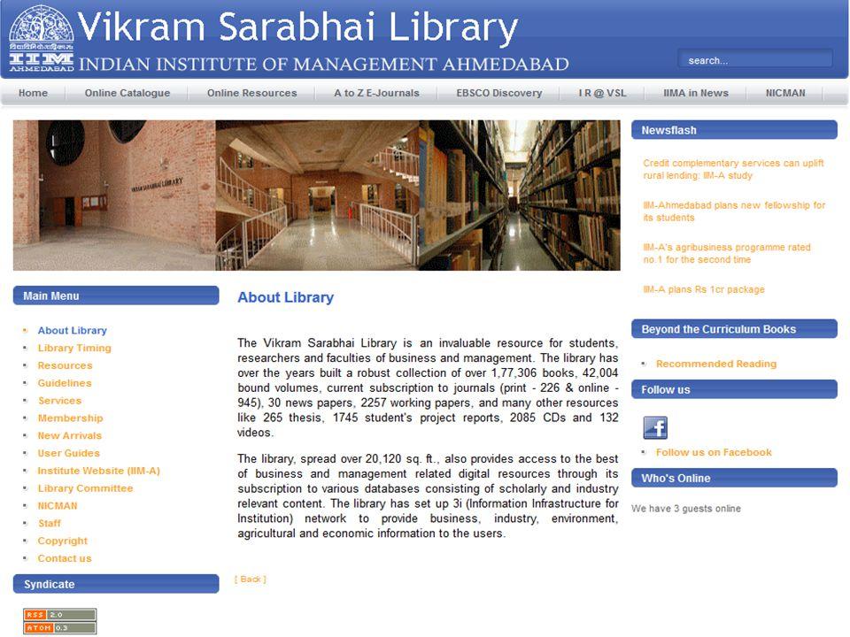 Creating library website using Joomla (Open Source-Content ...