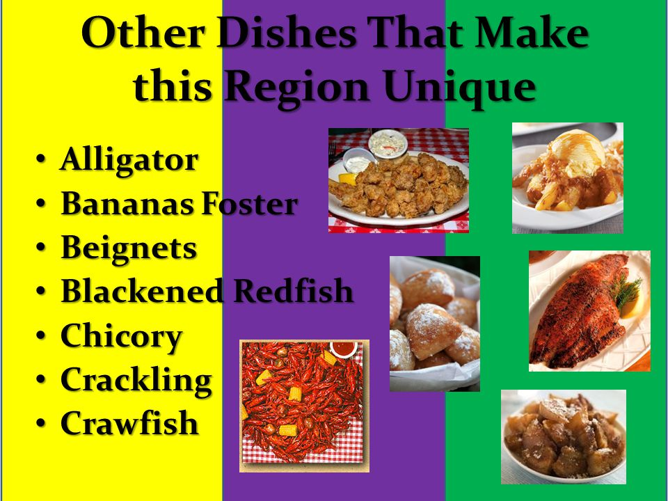 Cajun cuisine travis syverson catering words used down south 20 other dishes that make this region unique alligator alligator bananas foster bananas foster beignets beignets blackened redfish blackened redfish chicory forumfinder Choice Image