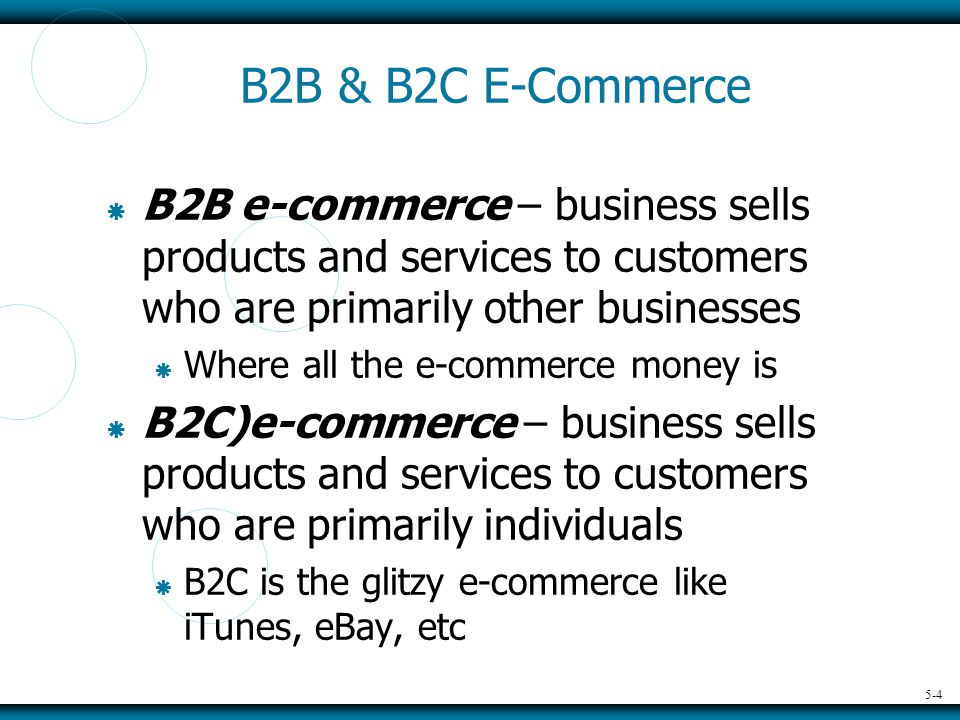 5-5 UNDERSTAND YOUR BUSINESS, PRODUCTS, SERVICES, & CUSTOMERS  To be successful, you must…  Define your products and services  Define your target customers  B2B (other businesses)  B2C (individuals)  Define your customers perception of the value of your products and services