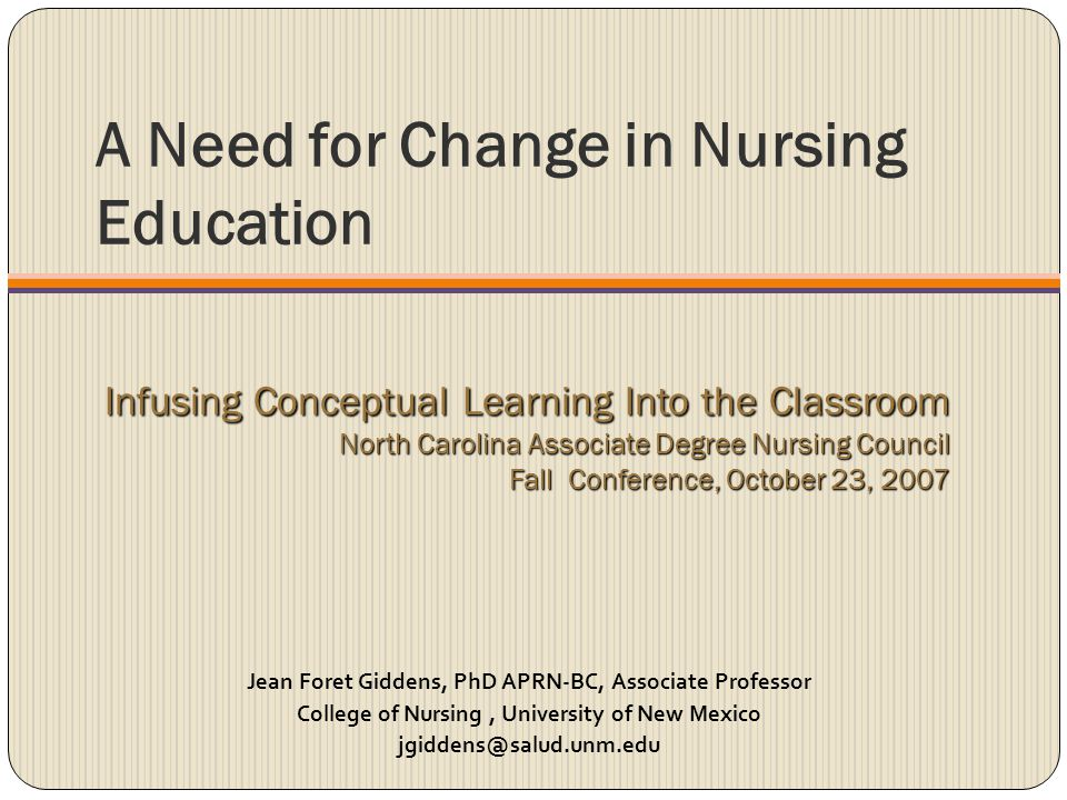 impact of social change on nursing education Follow @innonurse nursing informatics combines the sciences of nursing, information and technology becoming a nurse informaticist can be achieved by many different avenues, from education to additional certifications.
