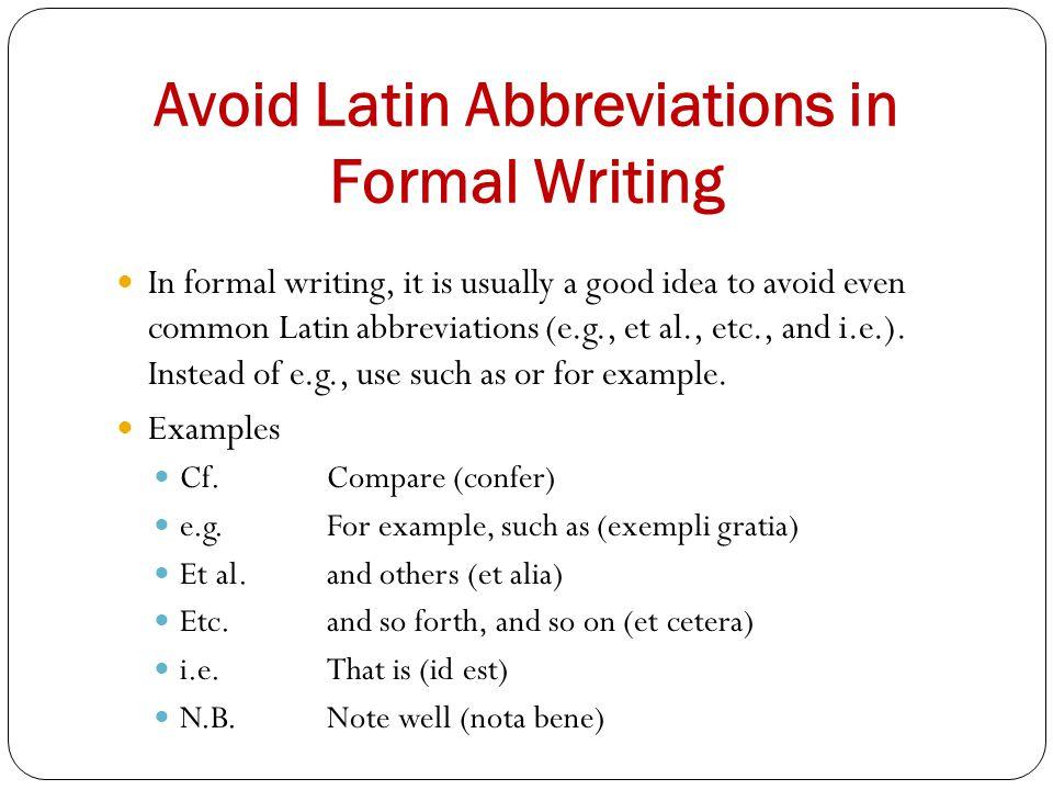 Pat Moran Michael Rengers Professor Green English Abbreviations and ...