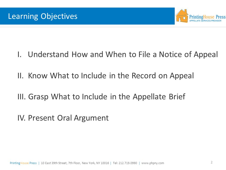 The Appellate Process at the New York State Appellate Division ...