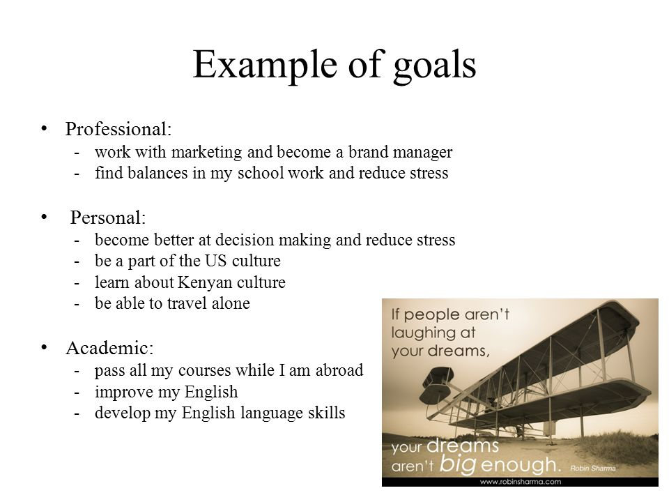 personal goals essay % original view full image