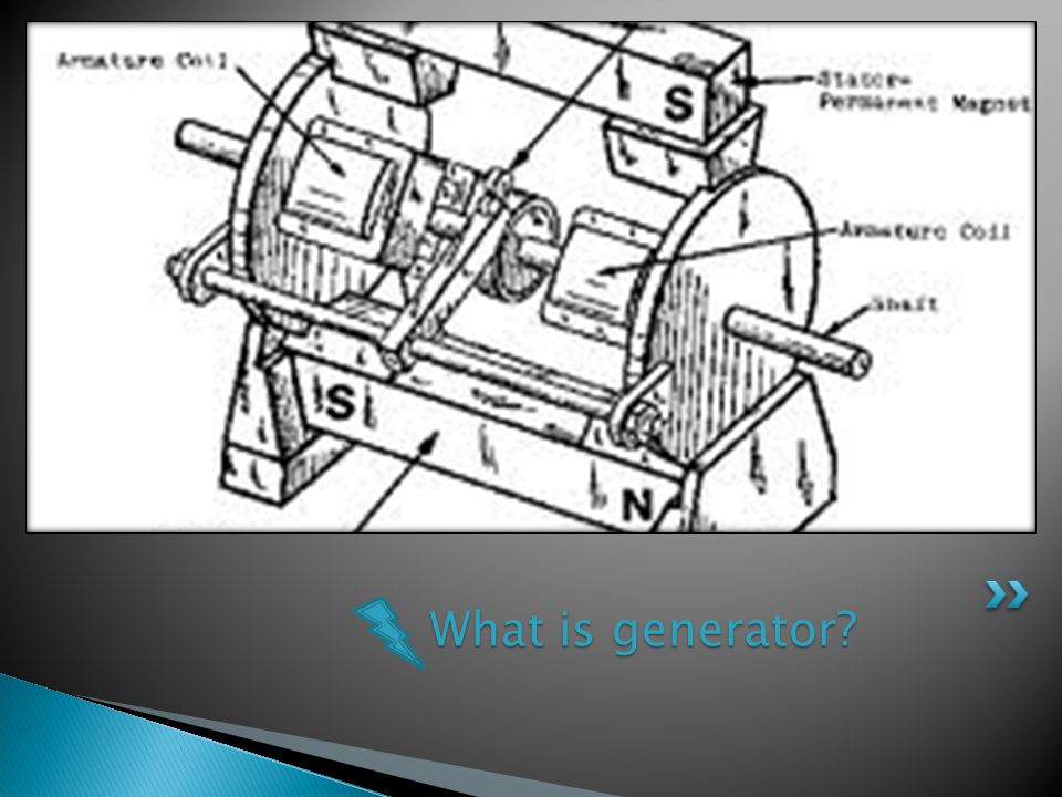 What is generator