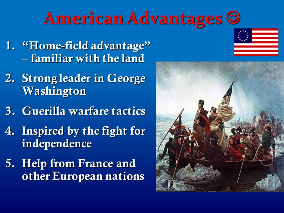 """americas advantages in the revolution essay Free essay: the industrial revolution prior to researching, i had a strong belief that the industrial revolution was a """"dark"""" time period where children and."""