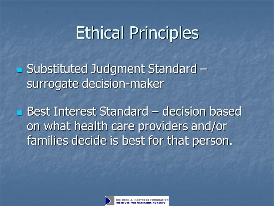 ethical principles You can search the collection of research studies being conducted at the nih clinical center at search the to seven principles for ethical research.
