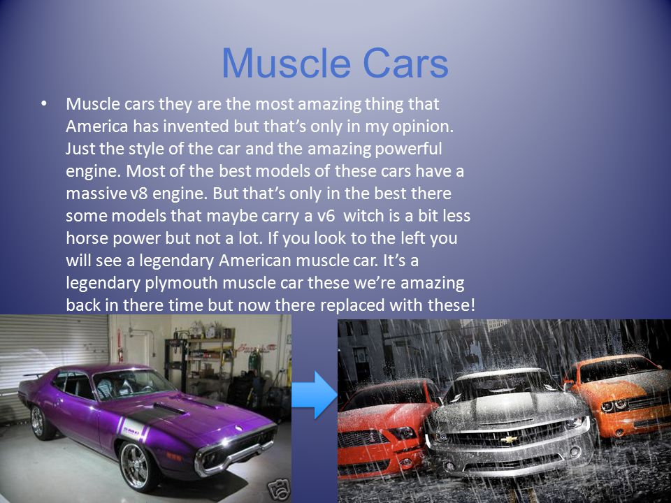 The World of Cars By: Marcas, Jordan And Trevor. Intro Title Page ...