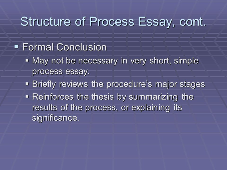 How to Write a Process Essay: 15 Steps (with Pictures)