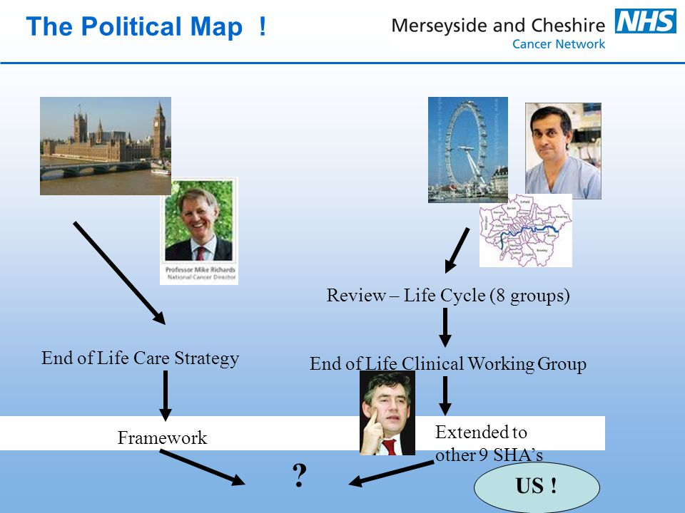 The Political Map .