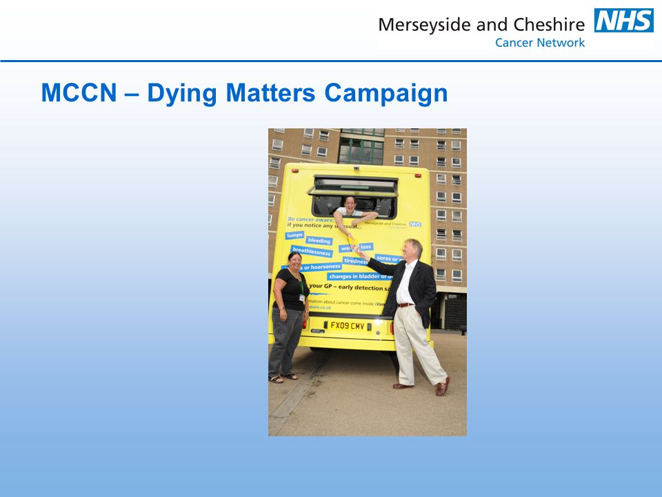 MCCN – Dying Matters Campaign