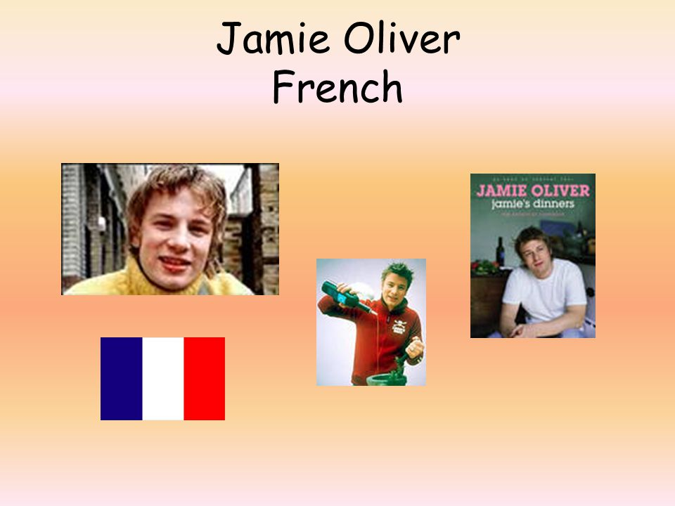 Jamie Oliver French