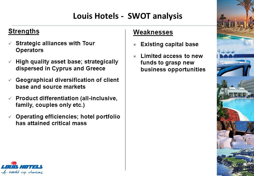 hotel swot analysis