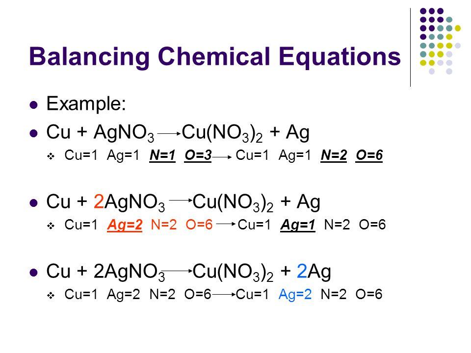 Balancing Equations Examples - Jennarocca