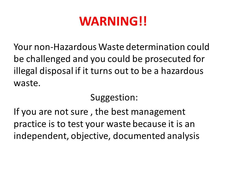 WARNING!.