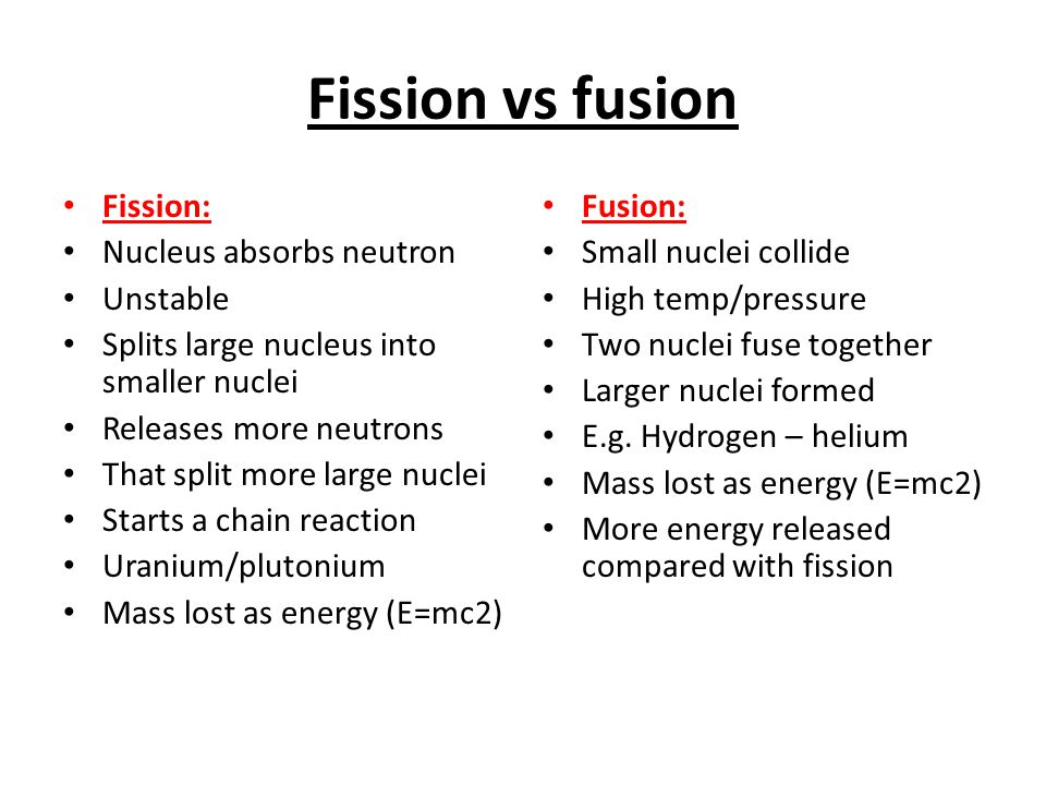 Radiation, nuclear fusion and nuclear fission - ppt download