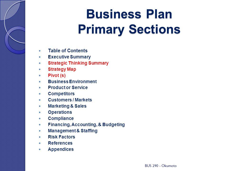 Bus business plan