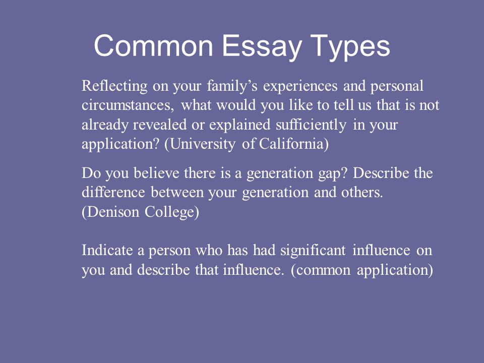 importance of the essay key to the college application set  4 reflecting