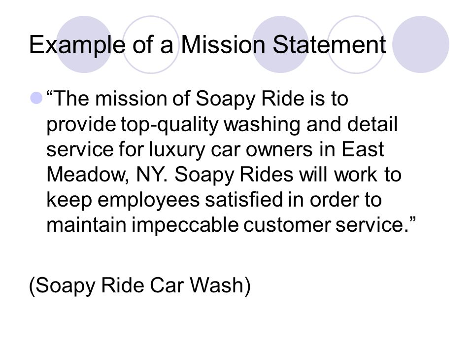 Soapy rides business plan