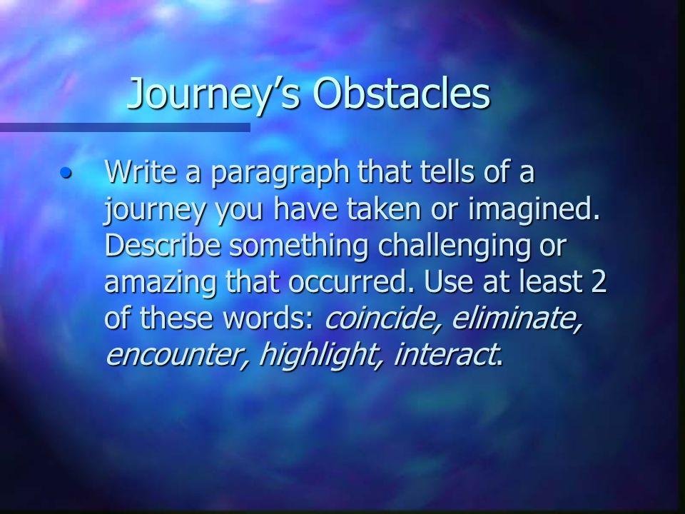 Essay Journey