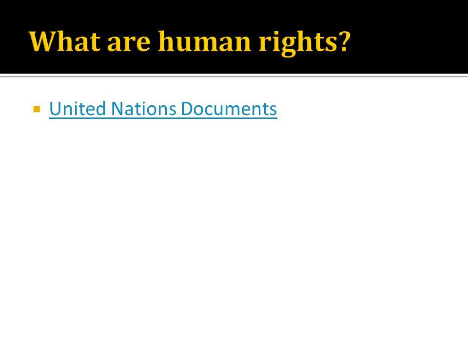  United Nations Documents United Nations Documents