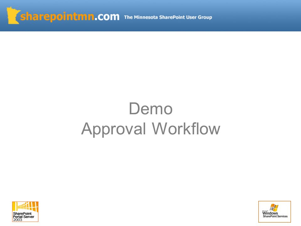 Demo Approval Workflow