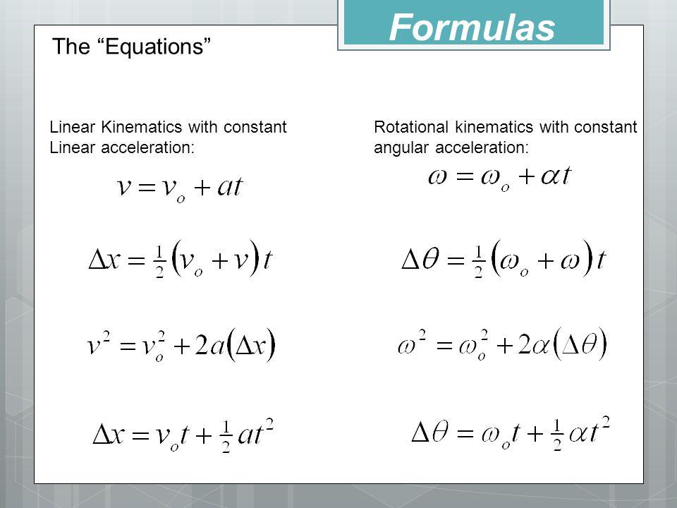 Linear Velocity Equation Tessshebaylo – Angular and Linear Velocity Worksheet