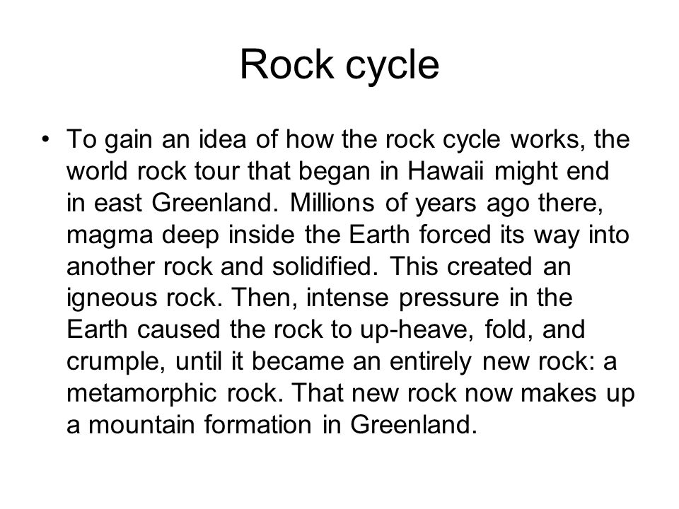 How The Rock Cycle Works Erkalnathandedecker