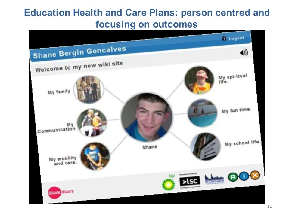 Education Health and Care Plans: person centred and focusing on outcomes 11