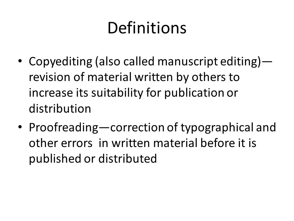 Proofreading def