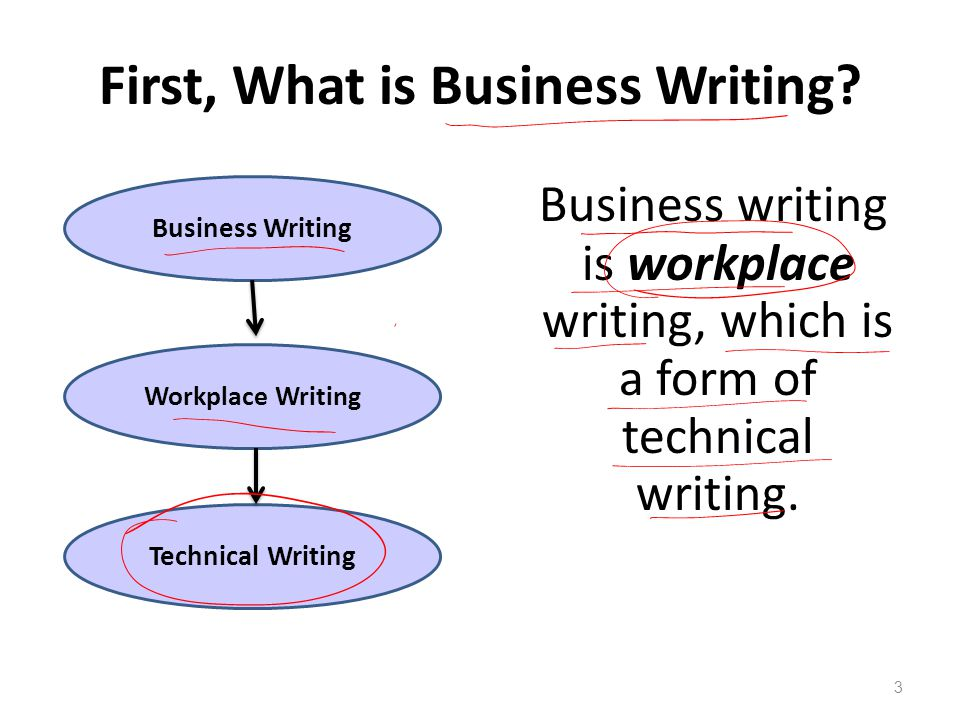 Technical writing business