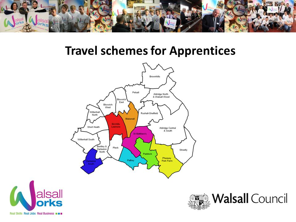 Travel schemes for Apprentices
