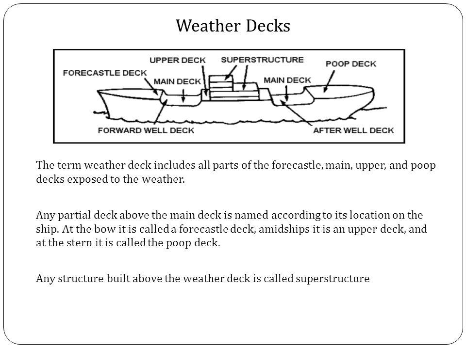 deck construction terminology the development of specialized skills ship handling navigation