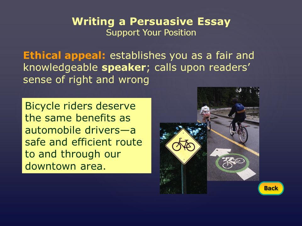 persuasive essay web Techniques and strategies for writing persuasive or argumentative essays elements toward building a good persuasive essay include (or on a web site).