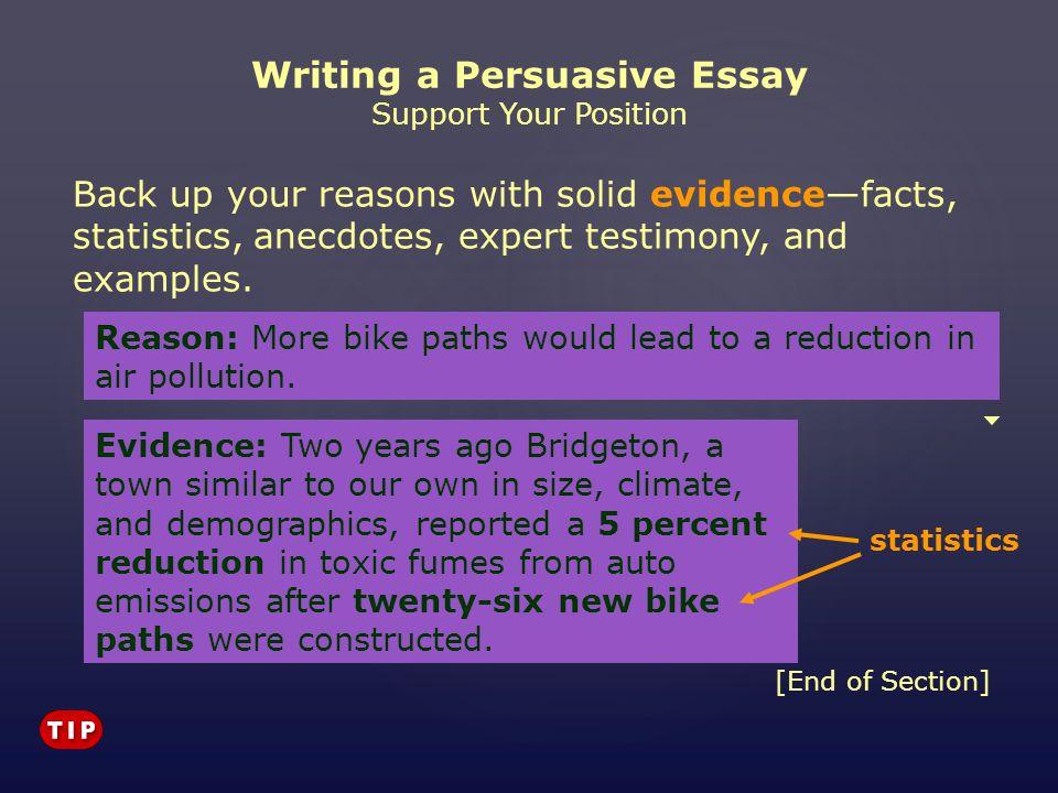Examples Of Persuasive Essay