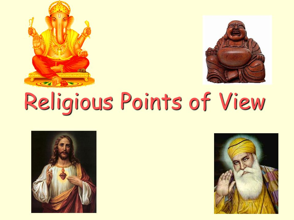 Religious Points of View