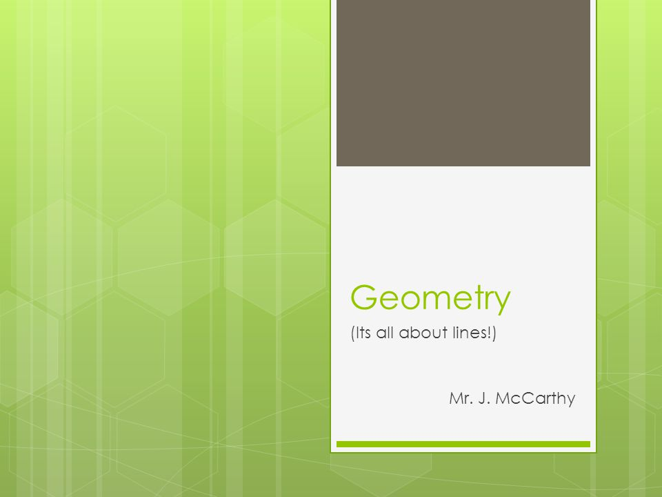 geometry its all about lines mr j mccarthy ab ab points a  1 geometry its all about lines mr j mccarthy